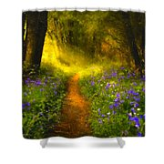 A Place In The Sun - Impressionism Shower Curtain