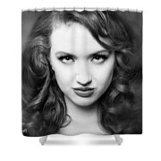A Place In Time Jessamyn Shower Curtain by Gary Heller