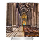 A Place Of Worship Shower Curtain