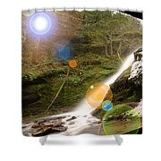 A Place To Day Dream  Shower Curtain