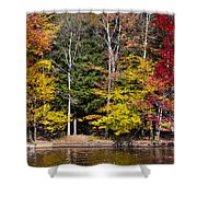 A Place To Relax In The Adirondacks Shower Curtain