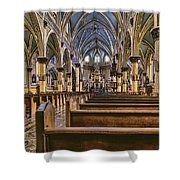 Place To Worship Shower Curtain