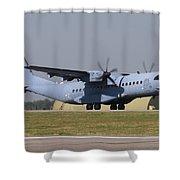 A Polish Air Force C-295m Taking Shower Curtain