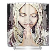A Prayer... Shower Curtain