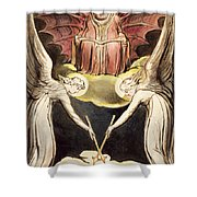 A Priest On Christ's Throne Shower Curtain