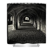 A Priory Vault. Shower Curtain