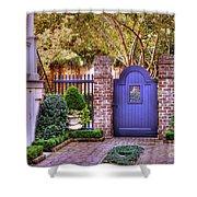 A Private Garden In Charleston Shower Curtain
