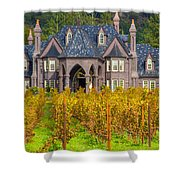 The Ledson Castle - Kenwood, California Shower Curtain
