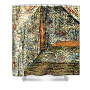 A Profusion Of Chintz Shower Curtain