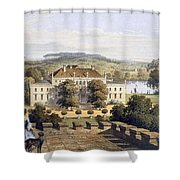 A Prussian Royal Residence, C.1852-63 Shower Curtain