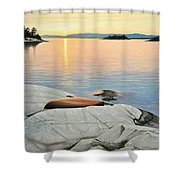 A Quiet Time Shower Curtain by Kenneth M  Kirsch