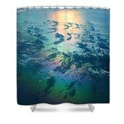 A Rainless Rainbow Shower Curtain