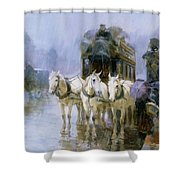 A Rainy Day In Paris Shower Curtain