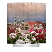 A Rainy Day In Prague 2 Shower Curtain
