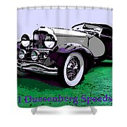 A Real Duesey Shower Curtain