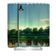 A Recall Of Yesterday Shower Curtain