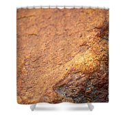 A Red Rock Shower Curtain
