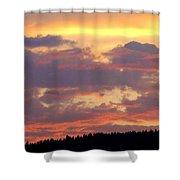 A Remarkable Sky Shower Curtain