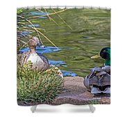 A Restful Moment Shower Curtain