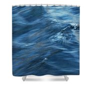 A River Flows Gently By Shower Curtain