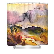 A River In France Shower Curtain