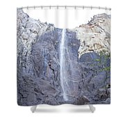 A Rock Face Shower Curtain