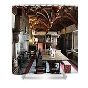 A Room In Bunratty Castle Shower Curtain