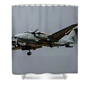 A Royal Air Force Shadow R1 Aircraft Shower Curtain
