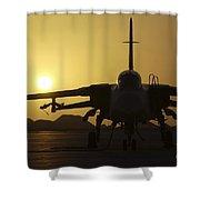 A Royal Air Force Tornado F3 Shower Curtain