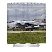 A Royal Air Force Tornado Gr4 Preparing Shower Curtain