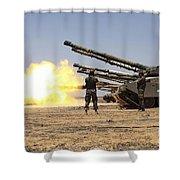 A Royal Jordanian Land Force Challenger Shower Curtain
