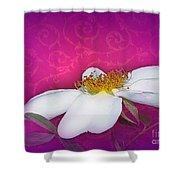 A Royal Rose Shower Curtain