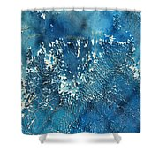 A Sea Of Patterns Shower Curtain