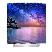 A Sea Of Stars At Poipu Shower Curtain