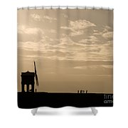 A Sense Of Perspective Shower Curtain