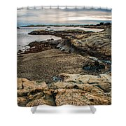 A Shot Of An Early Morning Aquidneck Island Newport Ri Shower Curtain