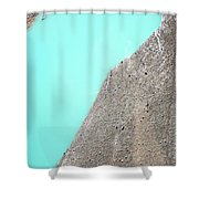A Silty Glacier-dammed Lake Shower Curtain