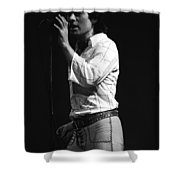 A Simple Man Shower Curtain