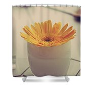 A Simple Thing Shower Curtain by Laurie Search