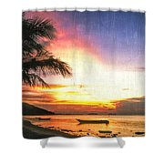 A Simpler Time Shower Curtain