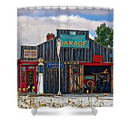 A Simpler Time Painted Version Shower Curtain