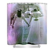 A Sister In Christ Shower Curtain