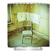 A Small Chair Shower Curtain