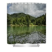 A Small Island Shower Curtain