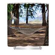 A Snooze By The Ocean Shower Curtain
