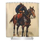 A Soldier Cavalerie Shower Curtain