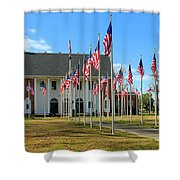 A Soldier Died Today Shower Curtain