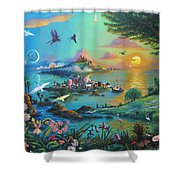 A Son Shower Curtain