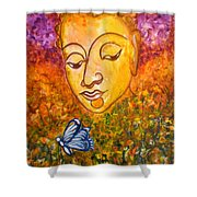 A Soulful Journey Shower Curtain