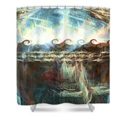 A Special World Shower Curtain